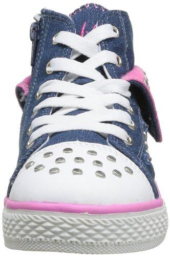 Primigi Basket Light G2, Baskets mode fille Bleu (Blue/Fuxia Flu)