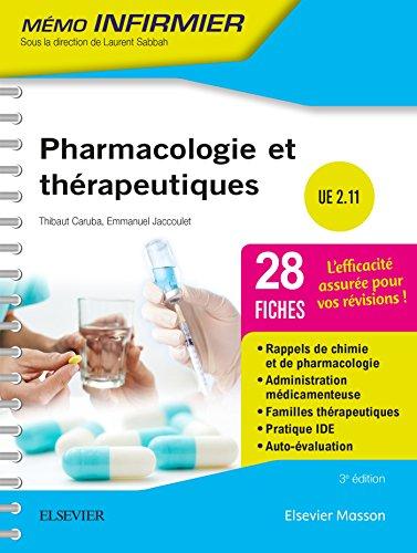 Pharmacologie et thérapeutiques: Unité d'enseignement 2.11 par Thibaut Caruba