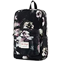 599s Floral Patterned Backpack School Bag, fits 15.6-inch Laptop