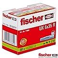 Fischer UX6X35R Universaldübel 6 x 35 mm 50er Pack 2er Blister von Fischer auf Lampenhans.de