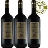 Rotwein Italien Merlot Magnumflasche trocken (3x1,5l)