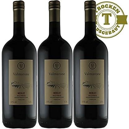 Magnumflasche-Rotwein-Italien-Merlot-trocken-3x15l
