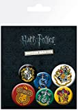 Harry Potter BP0698, Distintivi, Pacco da 6