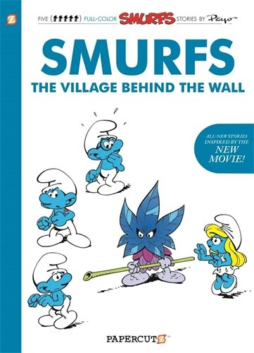 Smurfs The Village Behind The Wall GN (Smurfs Graphic Novels (Hardcover))