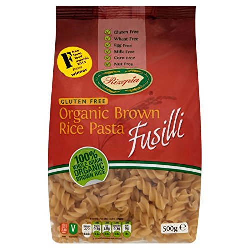 Rizopia Organic Brown Rice Fusilli 500g (Pack of 3)