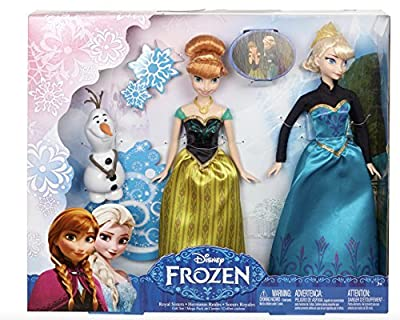 Disney Frozen Royal Sisters Gift Set, Includes Olaf, Anna and Elsa by Disney Frozen por Disney
