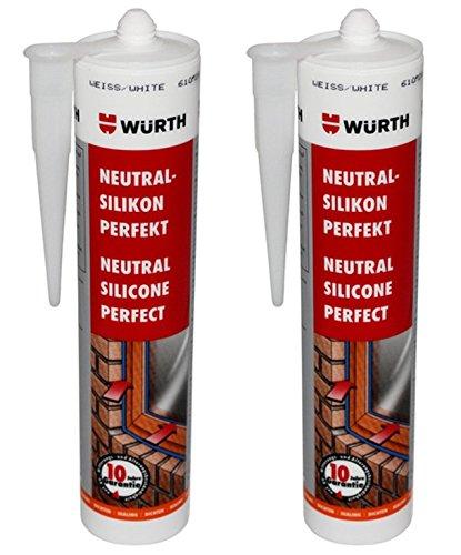 lot-de-2-wurth-silicone-blanc-neutre-ideal-310-ml-cartouche-fenetre-vitrage