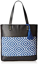 Kanvas Katha Womens Handbag (Black) (KKVTJ007)