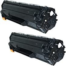 2 Compatible CRG 725 Laser Toner Cartridges for Canon I-Sensys LBP-6000, LBP-6000B, LBP-6018, LBP-6020, LBP-6020B, MF-3010 | 1,600 Pages