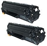 2 PREMIUM Toner kompatibel für Canon CRG 725 I-Sensys LBP-6000, LBP-6000B, LBP-6018, LBP-6020, LBP-6020B, MF-3010 | 1.600 Seiten