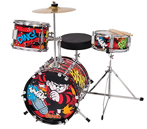 the-beano-real-musical-instruments-tbk100-schlagzeug-set-fur-kinder