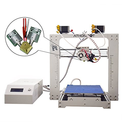 3D Drucker 2 in 1 Dual Extruder Prusa i3 Große Größe 260 x 300 x 300 mm Drucken Single/Dual / Mixed/Graded Farbe - 2