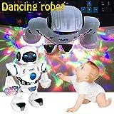 Elektronische RC Tanz Roboter, Intelligente & Charismatische Vorschule Lernroboter Spielzeug Kleinkind Intelligente Action Lernspielzeug mit Musik LED Lichter für Kinder Mädchen Jungen Haustiere