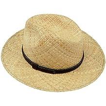 EveryHead Fiebig Sombrero De Paja Niño Panamá Vaquero Equinácea Verano Moda  La Marca con Cinta Piel 056d6720765