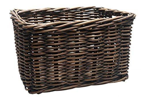 New Looxs Brisbane Fahrradkorb, Brown, 46 x 33 x 26 cm