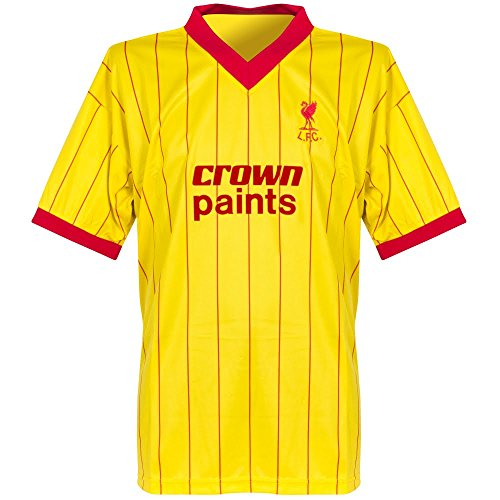 Club Licensed 1982 Liverpool Away Retro Trikot - S