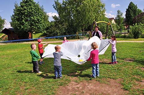 EDUPLAY 170223 Kinder-Fallschirm, 360cm