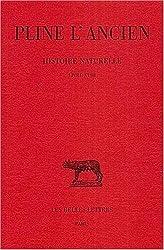 Histoire naturelle, livre XVIII, édition bilingue