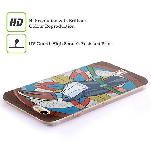 Head Case Designs Loup Animaux Aztèques 3 Étui Coque en Gel molle pour Apple iPhone 7 / iPhone 8 Toucan