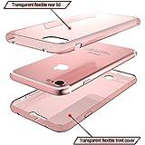 iPhone 66S Plus transparente 360° Carcasa–Slim Alta Protección de todo–iPhone 6Dos Piezas frontal y trasera rígida de silicona y TPU Full Body–Funda protectora