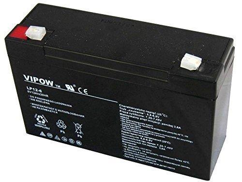 Preisvergleich Produktbild Vipow Gelakku AGM Gelakkumulator Ersatzbatterie Gel Akku Batterie (6V 12Ah)
