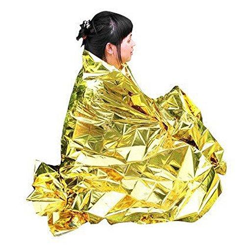 Enem Emergency Mylar Thermal Blankets Heavy Duty Large (160 X...