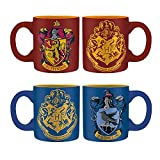 Harry Potter - Gryffindor & Ravenclaw - Tassen 2er-Set - Keramik - Füllmenge 110 ml | Original Fan-Artikel