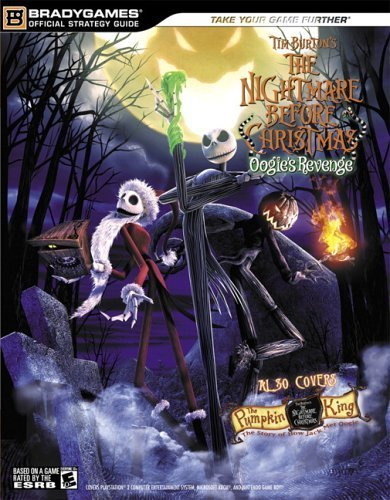 Tim Burton's The Nightmare Before Christmas????: Oogie's Revenge OfficialStrategy Guide (Official Strategy Guides (Bradygames)) by BradyGames (2005-10-22)