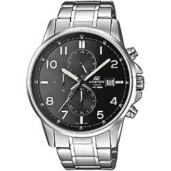 Casio Edifice Reloj Analógico de Cuarzo para Hombre con Correa de Acero Inoxidable – EFR-505D-1AVEF