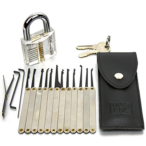 hs-16-pcs-practice-lock-pick-padlock-picking-tools-kit-training-set-with-transparent-practice-padloc