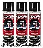Beschichtungsfarbe 3 Spraydosen von HERCULINER in schwarz 3 x 440ml