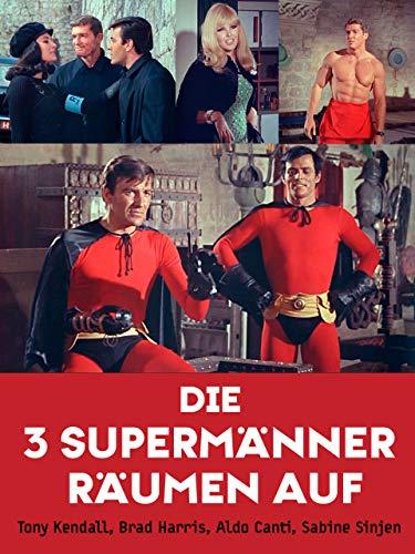 Die Drei Supermänner räumen - Kramer Kostüm