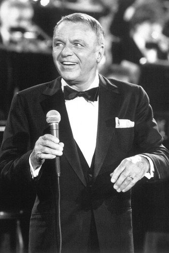 Poster Sinatra Frank (Moviestore Frank Sinatra 91x60cm Schwarzweiß-Posterdruck)