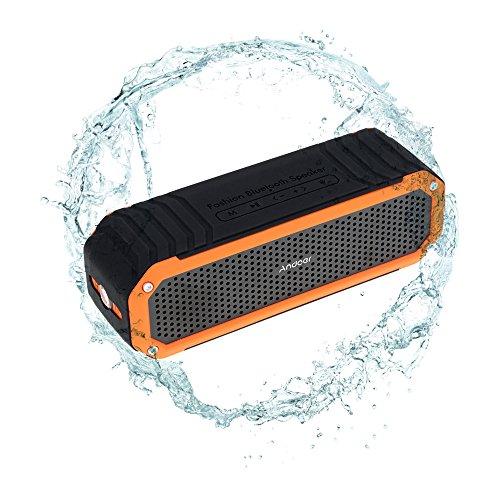 Andoer® Altavoz Estéreo 10W Bluetooth 4.0 Wireless Inalámbrico Al Aire Libre Manos...