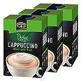 Krüger Dolce Vita Cappuccino, Weniger Süß, Milchkaffee, Milch Kaffee aus löslichem Bohnenkaffee, 30 Portionsbeutel