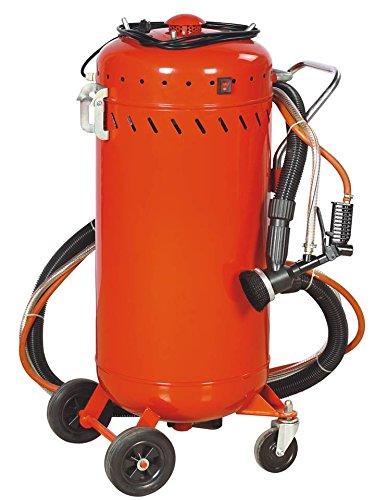 Kombinierter Sandstrahler und mobiles Vakuum 106L, Indoor / Outdoor