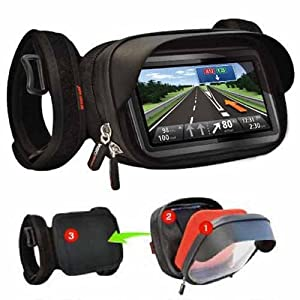 so easy rider smartphone gps moto bicyclette support coque etanche etui housse pour apple iphone. Black Bedroom Furniture Sets. Home Design Ideas
