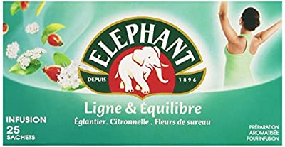 Elephant Infusion Ligne et Equilibre 25 Sachets 46 g