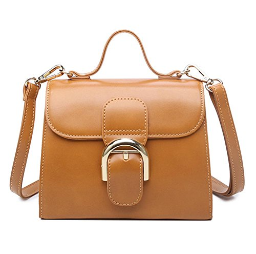 pengweiBorse a tracolla femminile Crossbody Bag Tote Women Messenger Bags Borsa a tracolla portatile in pelle , 5 4