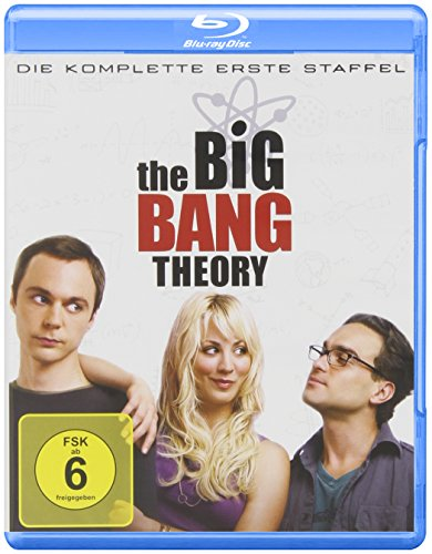 The Big Bang Theory - Die komplette erste Staffel [Blu-ray] 1 Plasma-tv