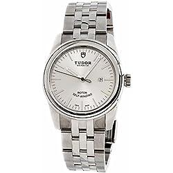 Tudor Glamour T53000A - Reloj de pulsera para mujer (certificado de autenticidad)