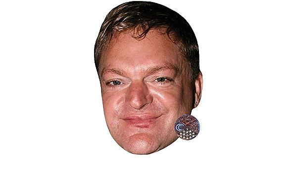 Big Head Larger than life mask. Erasure Andy Bell