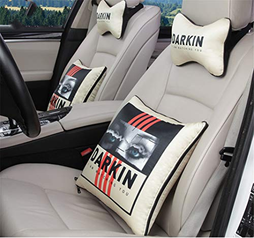 In The Car Pillow Quilt Four Seasons Car Air Conditioning By The Waist By The Dual-Use Head Pillow Waist By Four Sets -
