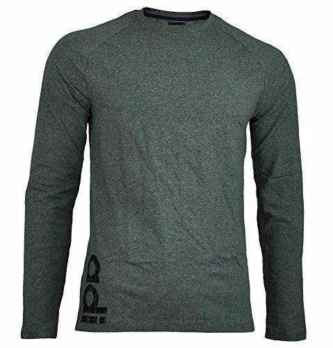 8967ec033c1a adidas Originals DP tee LS Slim Fit Hombres Manga Larga Camiseta Camisa  Largo.