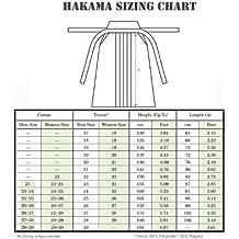 100% Hakama Autentico para Kendo - Directo de Japon: (Blanco) Keikogi! HPW