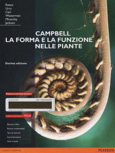 campbell-la-forma-e-la-funzione-nelle-piante-ediz-mylab-con-espansione-online
