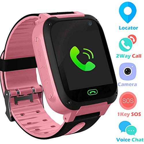 Jaybest Kid Smart Watch LBS Tracker, 1.44