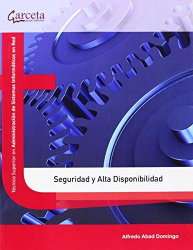 Portada del libro Seguridad y alta disponibilidad (Texto (garceta))