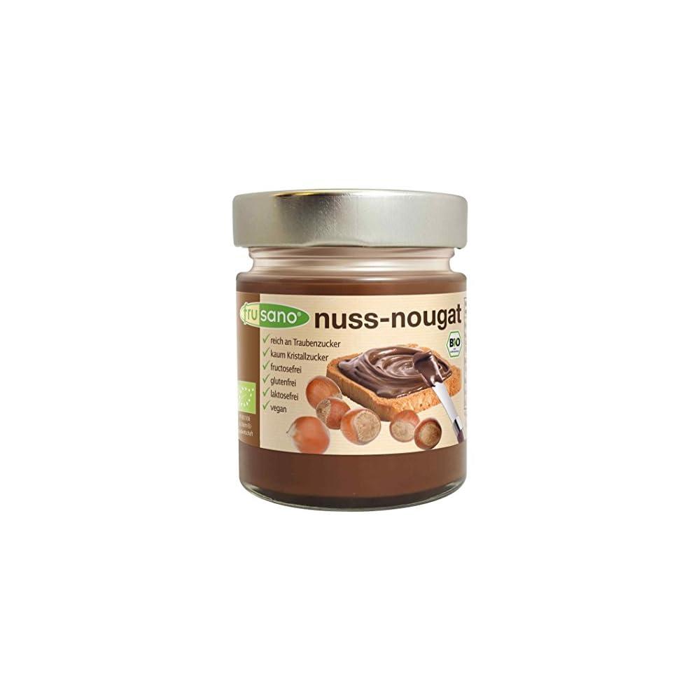 Frusano Nuss Nougat Creme Bio 180g