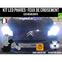 Kit Bombillas de faros con led H7 alta performance para Citroen C3 2